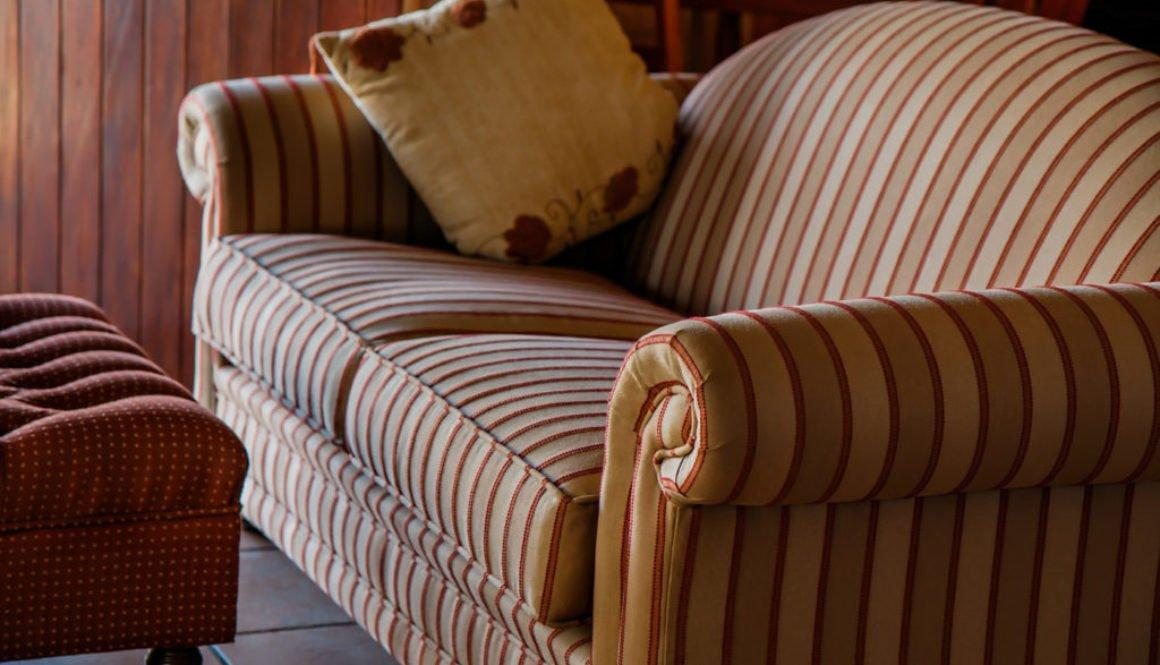 Striped Sofa