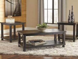 Mallacar Occasional Table Set 3Pc
