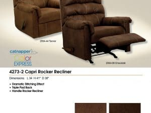 Rocker Recliner Fabric