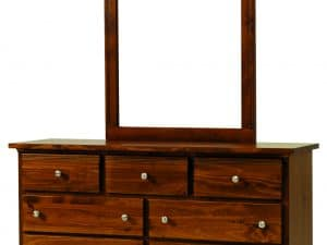 Decora Mahogany 7 Drawer Dresser
