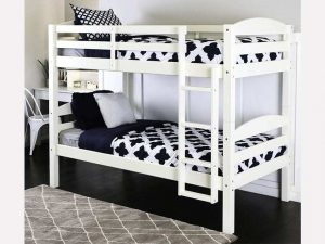 Wood Bunk Bed White