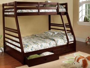 Bunk Bed Twin over Double Espresso