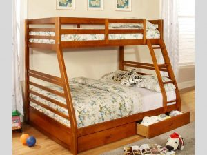 Bunk Bed Twin over Double Honey