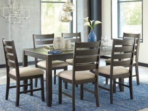 Rokane 7pc Dining Room Set