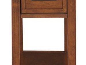 Breegin Chairside End Table in Brown