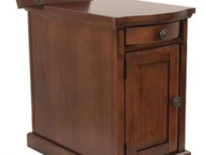 Laflorn Chairside End Table-Brown