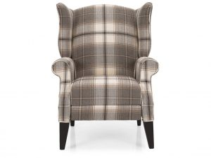 Pushback Wing Chair
