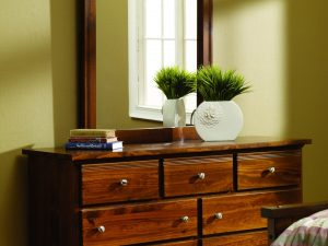 Decora Mahogany 7 Drawer Dresser