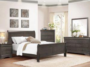 Mayville Queen Sleigh Bed