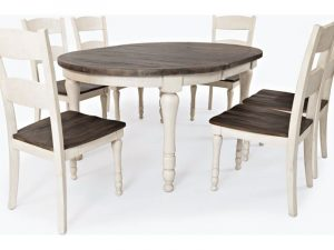 Madison County Round to Oval Table